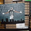"Olivia Fritcher painted this ""New York Jets"" work. She is a senior at Effingham High School. Dawn Schabbing photo"