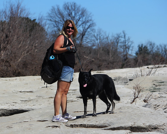 McKinney Falls with Chelsea