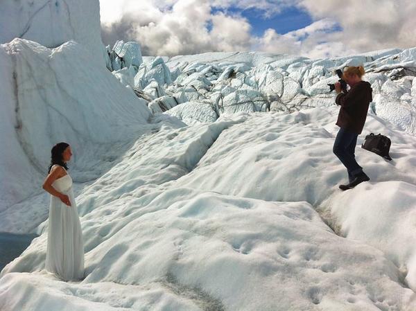 Doing what I love, Wedding Photography on Matanuska Glacier, Alaska