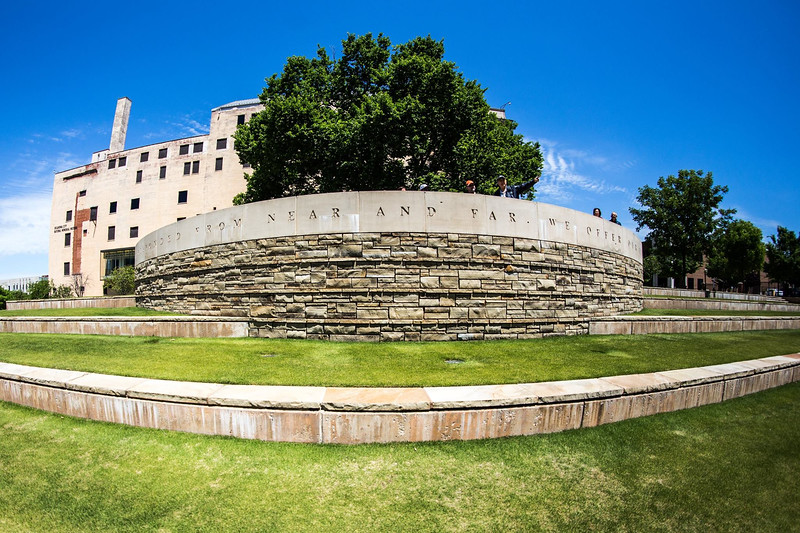 Oklahoma City Bombing Memorial | Fort Collins, CO Architectural Photographer