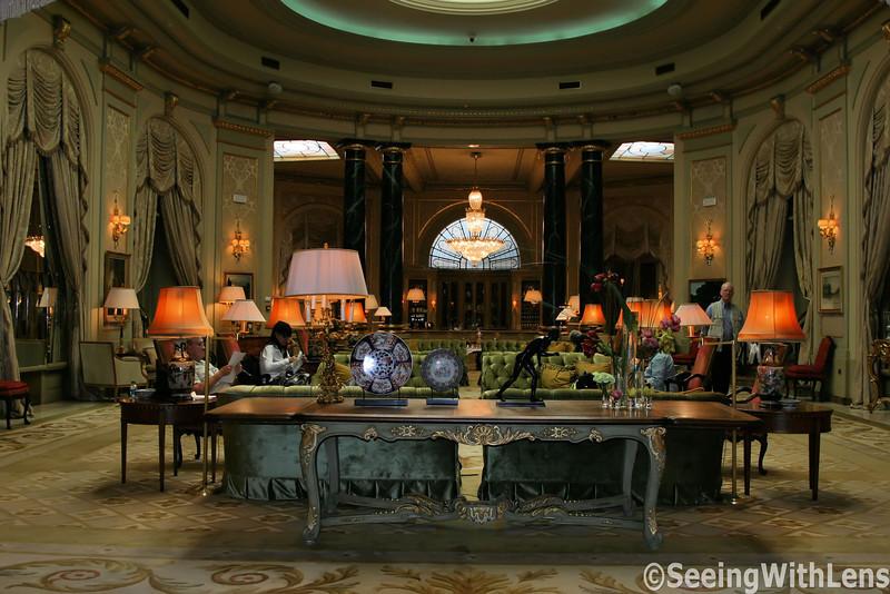 El Palace Hotel - Barcelona, Spain