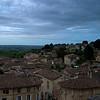 View form the terrace: Saint-Emilion, Aquitane, France
