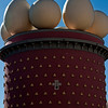 Top of Salvador Dali' s Museum in Figueres, Spain