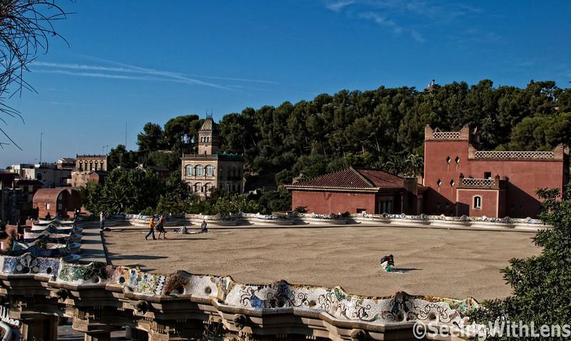 Parc (Park Guell) - Barcelona, Spain