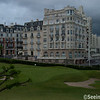 Buildings around Hotel Du Palais - Biarritz, France