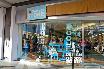 Denver  I Heart Denver Store (Exterior)  Level 2 of Denver Pavilions 500 16th Street, Denver CO 80202