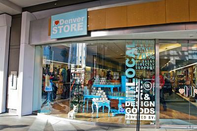 Denver  I Heart Denver Store (Exterior)  Level 2 of Denver Pavilions 500 16th Street, Denver CO 80202
