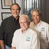 Aqua Exec Staff l to r Chuck Jacobson VP/Owner, John Miller President /Owner, and Skip Stanton VP/Owner
