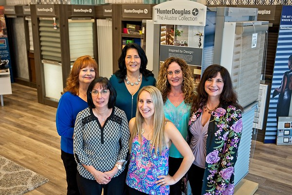 Hometown News- Budget Blinds - the Design Team and sales team