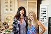 Hometown News- Budget Blinds - Josephine Coco and Jenifer Coco Mackey in the Showroom