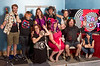 IDs ltor back row: Jack Eller (Game Master), Eileen Scarfe (Baby Wrangler), Ava Pandeloglou (Asst Mgr), Steve Katzman (Mr. Fix-it), Debi Katzman (Creative Organizer), ltor Front row: Stephanie Bacon (Game Master), Suzan Ponte (Cheif Amazement office), Michael Katzman (Chief Robot Whisper), Teresa Zimmerman (Game Master of Disasted) Not shown is Jacob Baize (Game Master)
