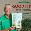 Hometown News - Good News Pest Solutions - Dean and Adam Burnside hold a new mosquito control product that they offer.
