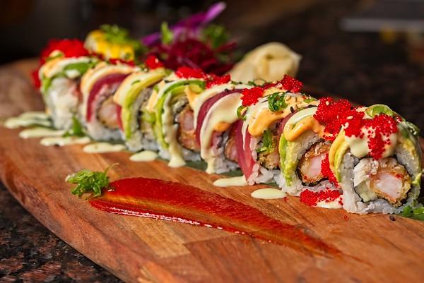 Hometown News - Hana Sushi Lounge Jane Dokko (owner) - Tsunami Roll