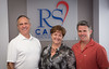 Players - Riana Rawson (only female) VP Community Outreach RSCares in white is Ray GianniniCFO GreenZone Hero and in red is John Krotec CEO of GreenZone Hero.