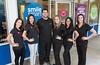 Smile Smart Dental staff - Daniela Front Office Coord, Elizabeth Office mgr, Dr. David Ashley, Brittany dental asst, Ashley dental asst, Lisa dental hygienist