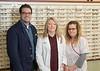 Staff Greg Broderick Optician, Dr. Chanda Wall, and Shelly Needham