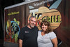 Owners of the TK Grill business Jimmy and Gretta Shelton