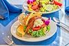 Hometown News - The Breakfast Cotage - Food pix - Crab Salad on Croissant