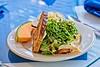 Hometown News - The Breakfast Cotage - Food pix - Open Face Turkey on Artisan Bread