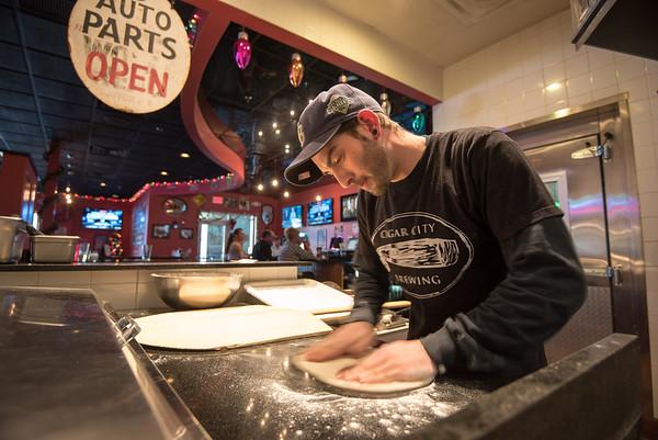 Wolves Head Restaurant Jon Garafalo Pizza Chef