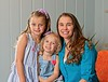 Hometown News - CBD Bradenton and Lakewood Ranch - Owners and Family members Stacey Quinn with Aryanna age 7 and Aryell age 3