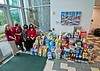 SMR makes a large doanation to the local Food Bank Plus program for the holidays. 14Dec2020