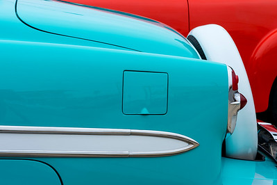 Color Contrast & Classic Cars