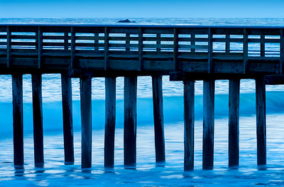 Cayucos Pier at Twilight
