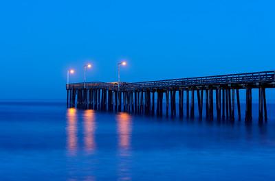 Ocean Pier at Dawn