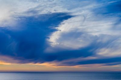 Clouds, Colors & Coastal Drama