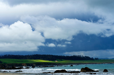 Coast & Storm Clouds