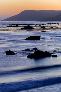 Evening Twilight at Coast