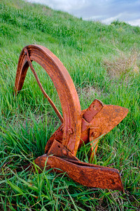 Old Rusty Plow