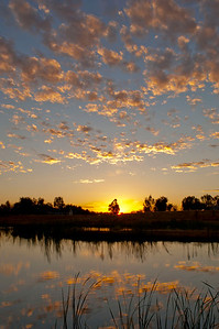 Pond_Sunset_Clouds