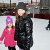 Madalyn and Mia Totten enjoyed ice skating during Effingham Hometown Christmas on Saturday.