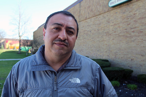 JULIE CROTHERS BEER | THE GOSHEN NEWS<br /> Elkhart resident Miguel Fino enrolled in English as a Second Language classes offered through Elkhart Community Schools' Adult and Community Education department in 2007.