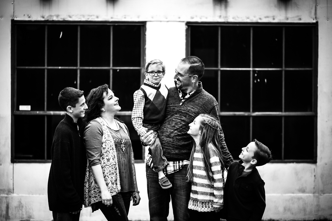 Myer Holiday Pictures | Fort Collins, CO Family Portraits Photographer
