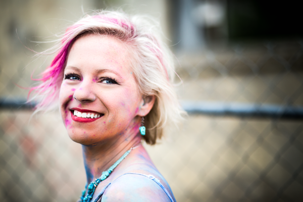 Fort Collins, CO Headshots Photographer | Color Run: Amy Keeter