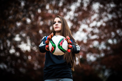 Soccer Player Senior Portrait Session | Fort Collins, CO Photographer