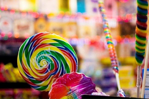 Candy Product Photography at Rocket Fizz in Old Town, Fort Collins, CO