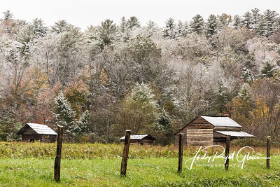 Cades Cove's First Snowfall