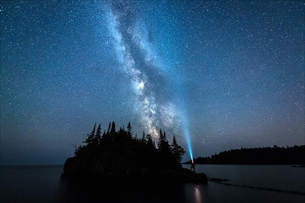 Milky Way Over Horseshoe Bay