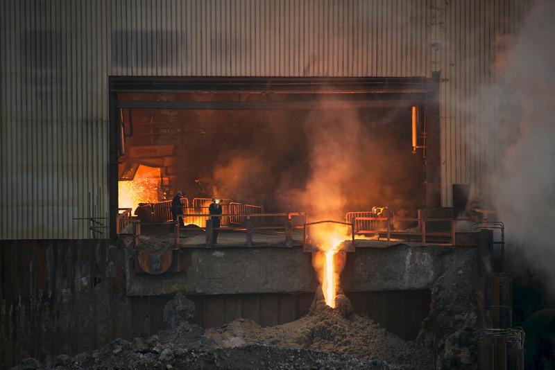 Redcar Blast Furnace - SSI Teesside