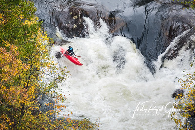 Airborne on Tallulah Gorge
