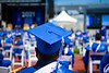 The College of Arts and Science Commencement was held in May 2021 in the UB Stadium on North Campus. These images are from the afternoon ceremony, celebrating the Humanities & Social Sciences Programs. <br /> <br /> Photographer: Douglas Levere<br /> <br /> This image has been approved by University Communications—under the guidance of UB's Office of Environment, Health and Safety—to align with current health and safety regulations during the COVID-19 pandemic.