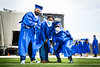 The College of Arts and Science Commencement was held in May 2021 in the UB Stadium on North Campus. These images are from the morning ceremony, celebrating the Arts, Natural Sciences, Math and Interdisciplinary Programs. <br /> <br /> Photographer: Meredith Forrest Kulwicki<br /> <br /> This image has been approved by University Communications—under the guidance of UB's Office of Environment, Health and Safety—to align with current health and safety regulations during the COVID-19 pandemic.