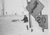 Blizzard of 77 - sign by Governors - closeup, University Archives, 1977, 2 of 2 shots, call number: 80L:173 © UB Archives <br /> <br /> Please contact University Archives at lib-archives@buffalo.edu for permission to use this image.