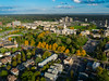 Aerial photos of the University Heights Neighborhood with the UB South Campus in the background, Buffalo, NY<br /> <br /> Photographer: Douglas Levere