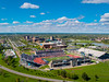 Aerial photos of the UB Bulls football game and tailgate vs Army at UB Stadium<br /> <br /> Photographer: Douglas Levere
