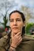 Portrait of Samina Raja, Architecture and Planning Professor at 345 Breckenridge, Buffalo, NY<br /> <br /> Photographer: Douglas Levere